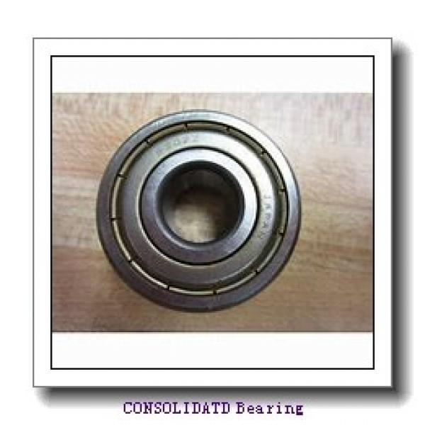 CONSOLIDATED BEARING NATV-15X  Cam Follower and Track Roller - Yoke Type #1 image